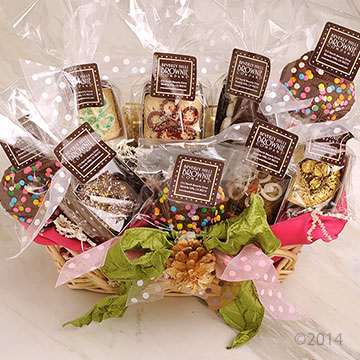 Brownie Cookie Basket 22