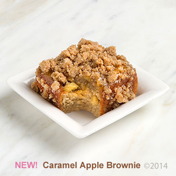 Caramel Apple Bite with Text